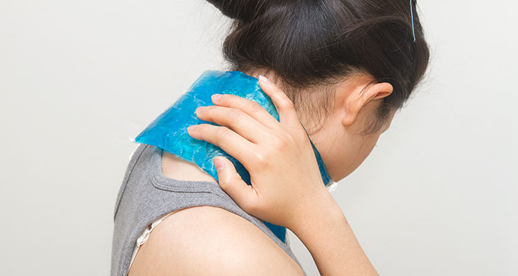 how to get rid of neck pain fast